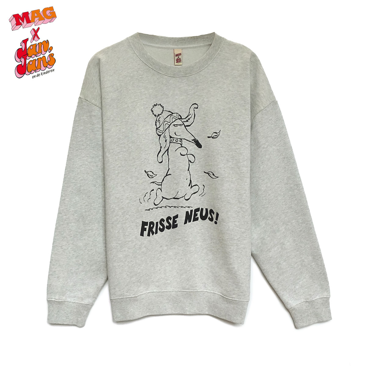 8802 Frisse Neus Light-Grey
